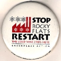 Stop Rocky Flats Restart; The Cold War Ends Here; Greenpeace Action