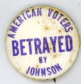 American Voters Betrayed By Johnson