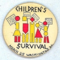 Children's Survival. March 25. Washington, D.C. Child Care. Food; Health. $6500 Now.