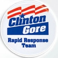 Clinton/ Gore. Rapid Response Team.