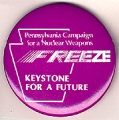Pennsylvania Campaign for a Nuclear Weapons Freeze. Keystone for a Future.