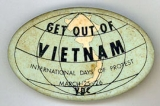 Get Out Of Vietnam. International Days of Protest. March 25-26. VBC.