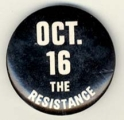 Oct. 16. The Resistance