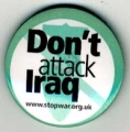 Don't Attack Iraq. www.stopwar.org.uk