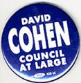 David Cohen. Council At Large