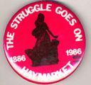 Struggle Goes On, The. Haymarket. 1886. 1986.