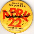 April 22. March on New York & LA. Out of SE Asia Now!. NPAC.