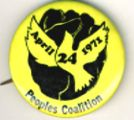 April 24, 1971. Peoples Coalition.