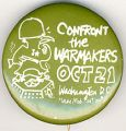 Confront the Warmakers. Oct 21. Washington D.C. Class Mobilization #2.