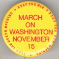 March on Washington. November 15. Stop The Death Machine. Stop The War. Stop The War Machine.