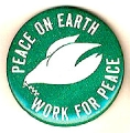 Peace on Earth. Work for Peace.