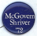 McGovern. Shriver. '72.