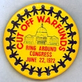Cut Off War Funds. Ring Around Congress. June 22, 1972.