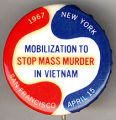 1967. New York. Mobilization to Stop Mass Murder in Vietnam. San Francisco. April 15
