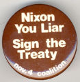 Nixon You Liar Sign the Treaty. Nov. 4 Coalition