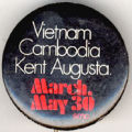 Vietnam. Cambodia. Kent. Augusta. March. May 30. smc