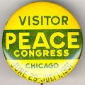 Visitor. Peace Congress. Chicago. June 29-July 1, 1951