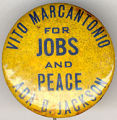 Vito Marcantonio. For Jobs and Peace. Ada B. Jackson