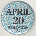 April 20. Washington D.C.. Peace. Jobs. Justice