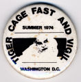 Tiger Cage Fast and Vigil. Summer 1974. Washington D.C.