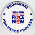 Pro-Israel. Pro-Peace Process. Americans for Peace Now.