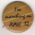 I'm marching on June 12.