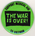 Support medical aid to Vietnam. The war is over.