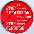 Stop Repression.  Stop Genocide.  GI's Conspiracy 8 Political Prisoners Black Americans Vietnamese.