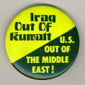 Iraq out of Kuwait.  U.S. out of the Middle East!