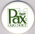 Pax: Our Choice