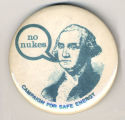 No Nukes.  Campaign for Safe Energy.