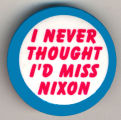I Never Thought I'd Miss Nixon