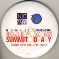 Women's Equality Summit & Congressional Action Day. NC of WO. YW. March 26th and 27th, 2007