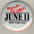 March for Peace! June 11. New York City. Support the UN Third Special Session on Disarmament.