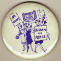 No Nukes. Disarm for Peace. Women Strike for Peace.