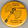 National Lesbian Conference. April 24-28, 1991. Atlanta, GA.