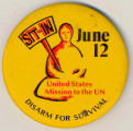 Sit-In. June 12. Disarm for Survival. United States Mission to the UN.