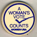 Woman's Vote Counts, A. Women USA.
