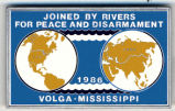 Joined by Rivers for Peace and Disarmament. 1986. Volga. Mississippi.