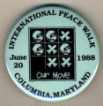 International Peace Walk. Columbia, Maryland. June 20, 1988. Our Move