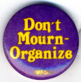 Don't Mourn - Organize