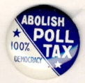 Abolish Poll Tax. 100% Democracy