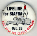 Lifeline for Biafra.Oct. 25. Help Keep the Candle Burning.