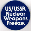 US/USSR Nuclear Weapons Freeze.