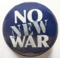 No New War
