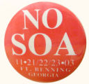 No SOA. 11-21/22/23-03. Ft. Benning Georgia.