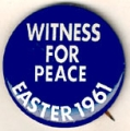 Witness for Peace. Easter 1961