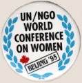 UN/NGO World Conference on Women. Beijing '95