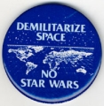 Demilitarize Space. No Star Wars