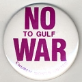 No To Gulf War. Church Women United